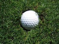 embedded golf ball