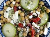 Greek Cucumber Chickpea Salad
