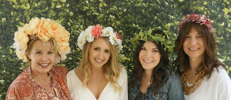 Tropical Flower Crowns... Bridal Shower
