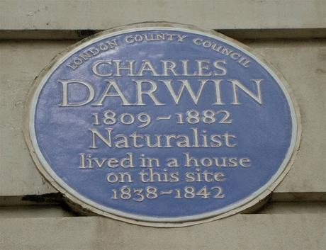 #plaque366 Charles Darwin at UCL @ucl