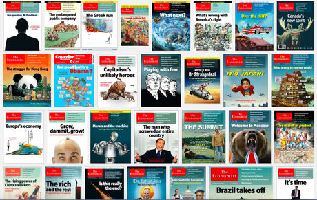 The Economist and covers that surpris