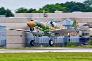 2015 ISAP Dream Shoot, Dallas,   Curtiss P-40N Warhawk,