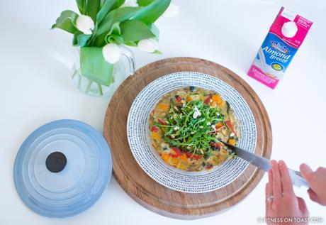Fitness On Toast Faya Blog Post Blue Diamond Almonds Vegetable Frittata Healthy Recipe Idea Food Blog Recipes-3