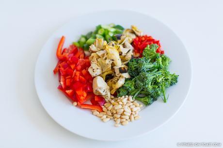 Fitness On Toast Faya Blog Post Blue Diamond Almonds Vegetable Frittata Healthy Recipe Idea Food Blog Recipes-8