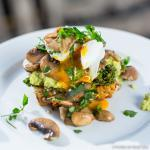 Fitness On Toast Faya Healthy Eggs from the Forest Diet Food Recipe Tasty Egg