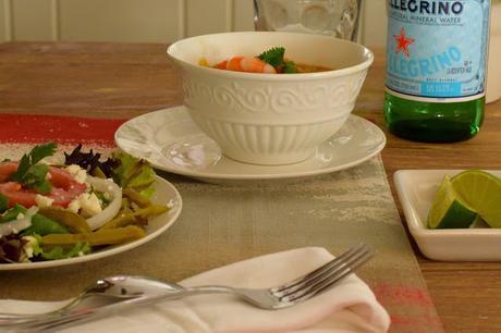Spicy Citrus Shrimp Soup Recipe