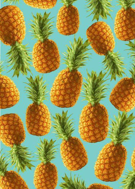 Pineapples everywhere!