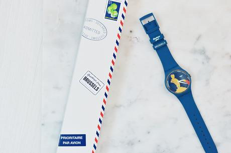 Swatch, event, mega store, opening, ketje from brussels, destinations watch, manneken pis, belgie, upr, belgian fashion blogger, belgische mode blogger, collector item, retail design