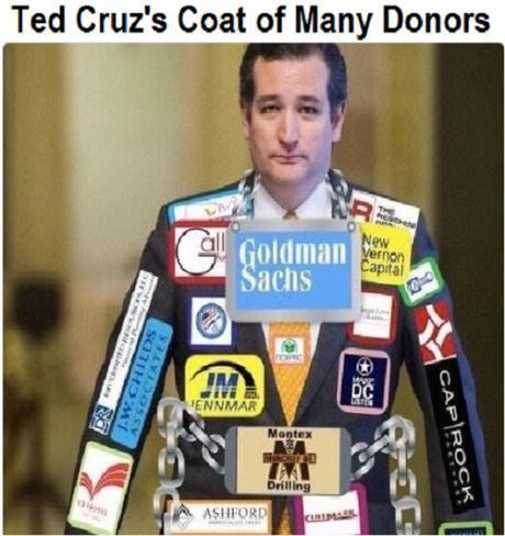 Ted Cruz donors