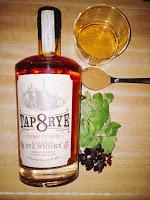 Tap On Tap:  Tap Rye Sherry Finished 8 Year Old Whisky Review