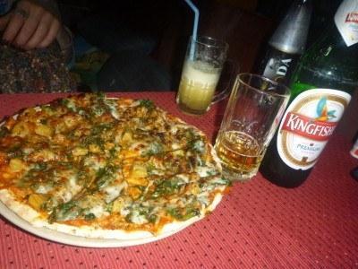Pizza at Mowgli