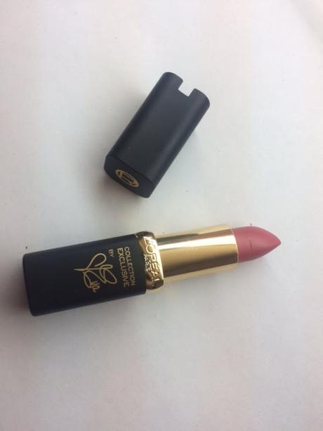 L'Oreal Paris Color Riche Collection Exclusive Pinks Eva's Delicate Pink Review and Swatches!
