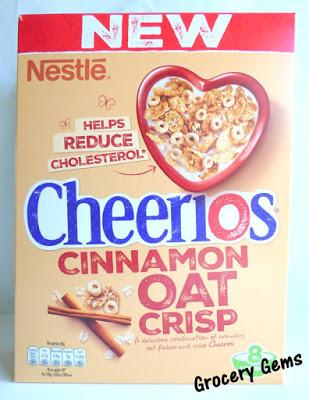 Review: Nestlé Cheerios Cinnamon Oat Crisp