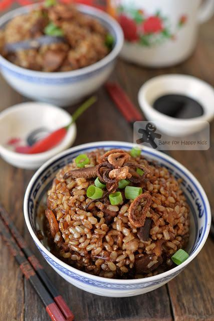 One Pot Rice Cooker Healthy and Traditional Hokkien style Yam Rice