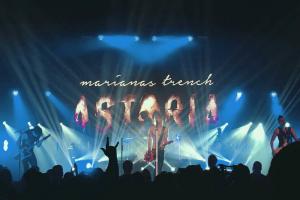 Marianas Trench Astoria Tour Stage