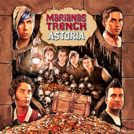 Marianas Trench Astoria Album Cover