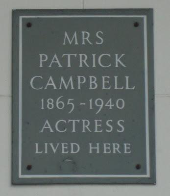 #plaque366 Mrs Patrick Campbell