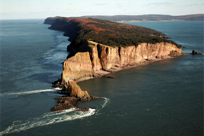 Scenic Cape Split captured with a UAV