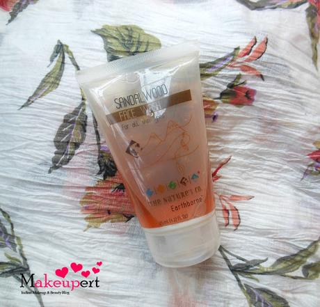 The Nature's Co Sandalwood Face Wash Review
