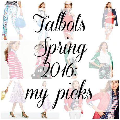 Talbots Spring 2016: My Picks