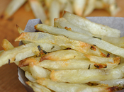 Oven Baked Fries with Rosemary Parmesan