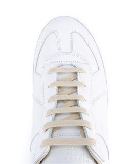 Degrees of White: Maison Martin Margiela Replica Leather Sneakers