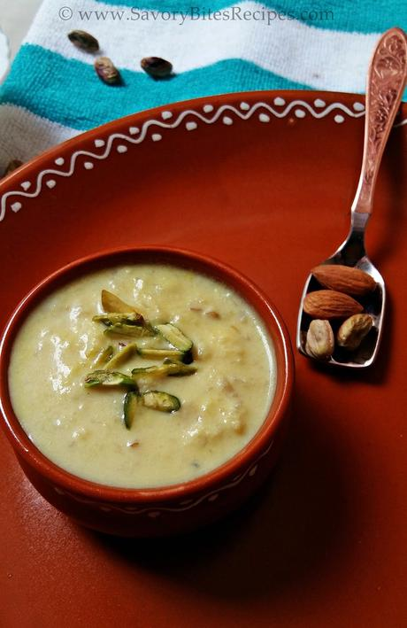 Apple Mawa Kheer