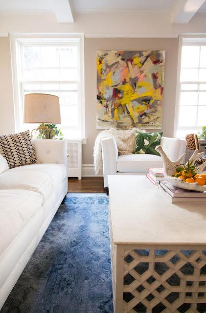 A chic bachelorette pad in NYC