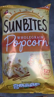 Sunbites Sweet and Salty Wholegrain Popcorn