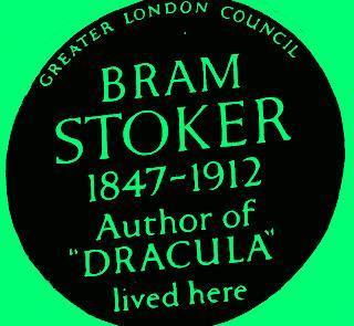 #plaque366 Bram Stoker - An Irish Man of Letters for #StPatricksDay