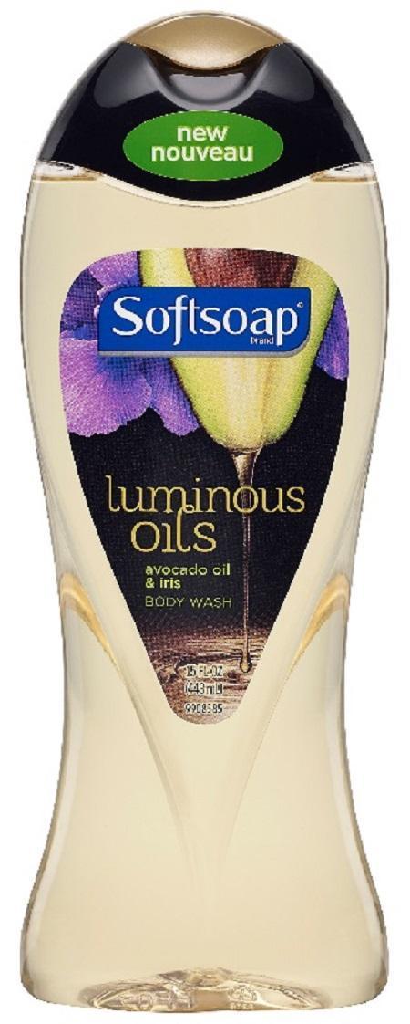 Softsoap Luminous Oils Body Wash