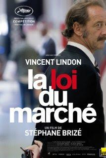 "190. French director Stéphane Brizé's ""La loi du marché"" (The Measure of a Man) (2015): Internalized reactions to jungle law of the market forces under economic gloom"