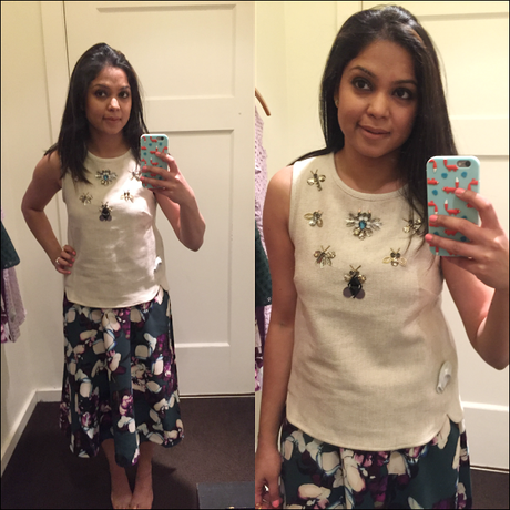 WHAT'S UP THURSDAY - Banana Republic fitting room reviews