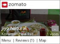 Jiyo Natural Menu, Reviews, Photos, Location and Info - Zomato