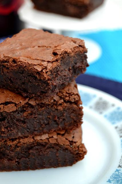 Fry's Chocolate Cream Stuffed Fudgy Brownies