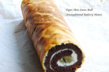 Tiger Skin Swiss Roll 虎皮蛋糕卷