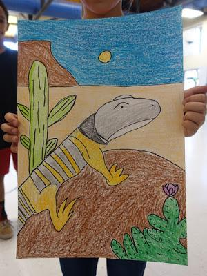 Author Visit, Sunrise Elementary School, Tucson, AZ
