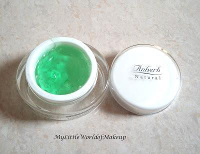 Anherb Natural Under Eye Gel Review!