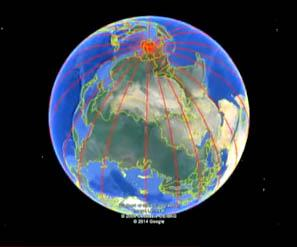 L.A. Chuck - The Catastrophe of 12,500 years ago - Ancient Equator of the Earth