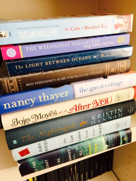 My Spring & Summer Reading Pile of Books | Steph's Scribe