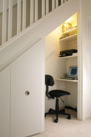 Small Space Solutions for Home Computer Station or Niche