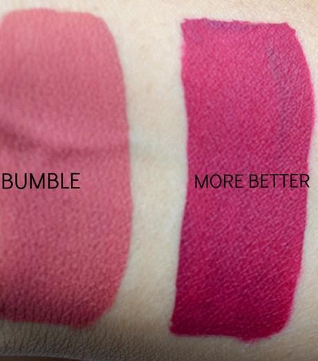 Colourpop Ultra Matte Lipstick Bumble & More Better