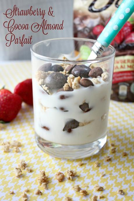 Strawberry & Cocoa Almond Parfaits + Meal Planning Tips