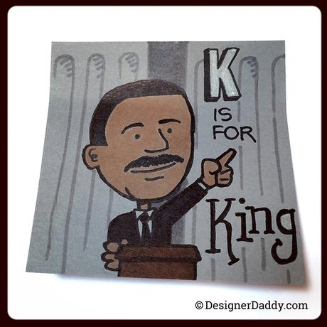 superlunchnotes a-to-z MLK