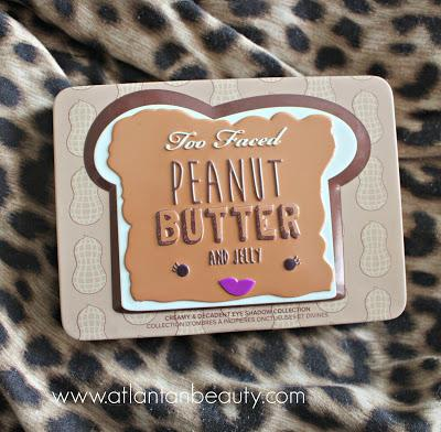 Review and Swatches of Too Faced's Peanut Butter and Jelly Palette