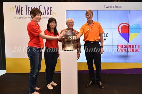 Microsoft Kicks Off President's Challenge 2016 with We Tech Care 2016