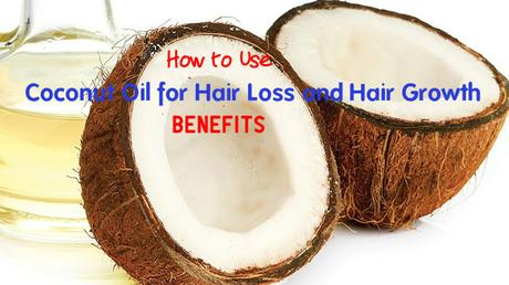 Coconut Oil for Hair Loss Growth