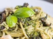 Chicken Mushroom Pesto Pasta Recipe Redux