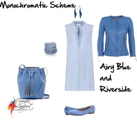 airy blue and riverside pantone 2016