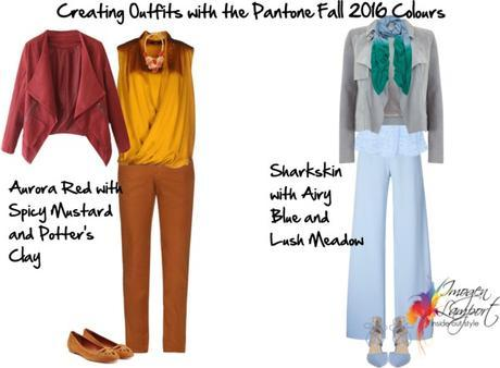 Pantone Fall 2016 color outfits